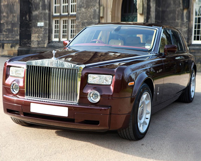 Rolls Royce Phantom - Royal Burgundy Hire